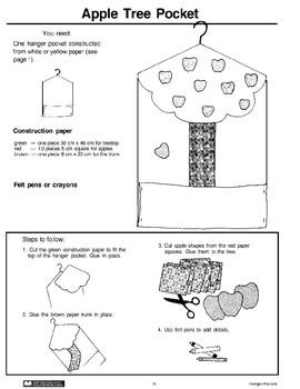 Hanger Pockets: Apple Tree and Umbrella