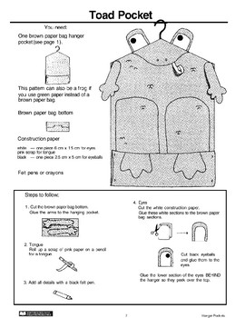 Hanger Pockets: Toad and Owl