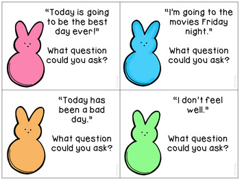 Hangin' With My Peeps Easter Social Skills