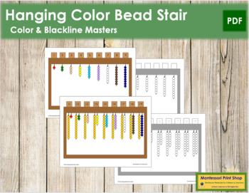 Hanging Bead Stair Extensions - Montessori