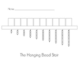 Hanging Bead Stair for Montessori