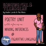 Hanging Fire and Teenagers Complete Poetry Unit
