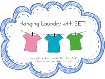 Hanging Laundry with EET!