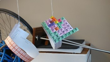 Hanging Periodic Table
