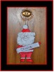 Christmas Art Activity - Hanging Santa Ornament - K - 4
