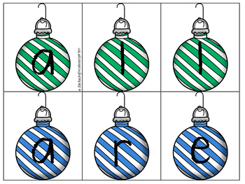 Hanging Sight Word Ornaments 2