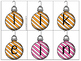 Hanging Sight Word Ornaments