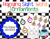 Hanging Sight Word Ornaments BUNDLE