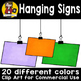 Hanging Signs BUNDLE {Clip Art for CU}