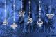 Hanging Xmas Lights - Silver