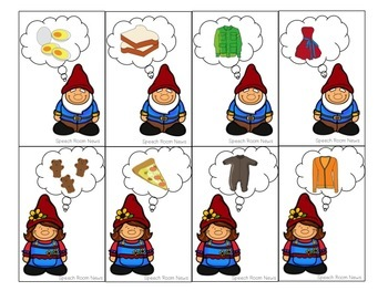 Hanging with my Gnomies: Categories Game