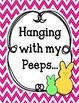 Hanging with my peeps Bulletin Board and Writing Assignment Set.  Easter Spring