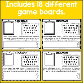 Hangman Distance Learning Packet