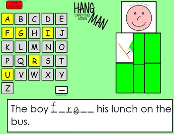 Hangman: Context Clues Edition