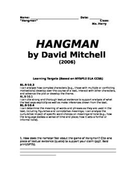 Hangman Exam