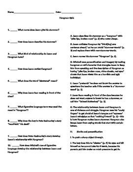 Hangman Quiz