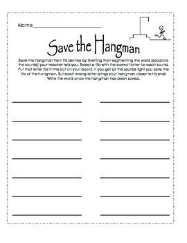 Hangman Segmentation Game
