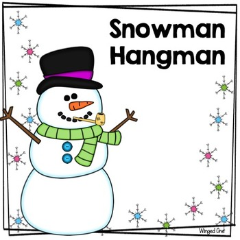 Hangman: Snowman Style