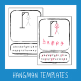 Hangman Templates - 8 Different Designs