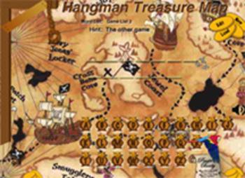 Hangman Treasure Map Game by George Wood (Mac)