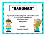 Hangman for Word Work