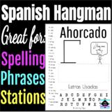 Ahorcado - Hangman in Spanish