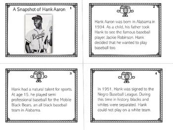 Hank Aaron | Biography Activity