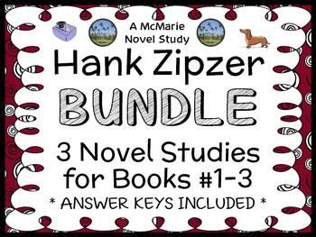 Hank Zipzer Bundle (Henry Winkler) 3 Novel Studies / Comprehension : Books 1-3