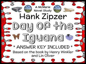 Hank Zipzer: Day of the Iguana (Henry Winkler) Novel Study / Comprehension