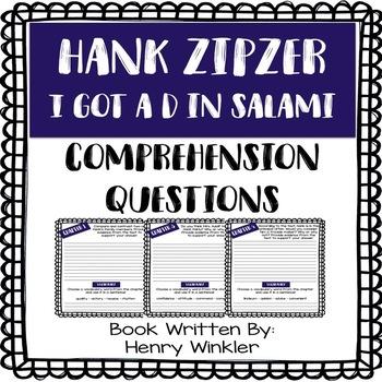 Hank Zipzer - I Got a D in Salami