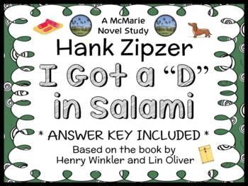 """Hank Zipzer: I Got a """"D"""" in Salami (Henry Winkler) Novel S"""