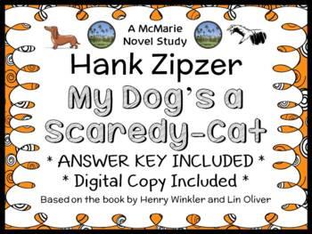 Hank Zipzer: My Dog's a Scaredy-Cat A Halloween Tail (Henry Winkler) Novel Study