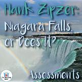 Hank Zipzer: Niagara Falls or Does It? Assessment Packet