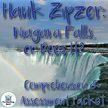 Hank Zipzer: Niagara Falls or Does It? Comprehension and Assessment Bundle