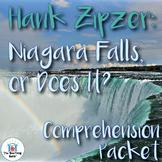 Hank Zipzer: Niagara Falls, or Does It? Comprehension Packet