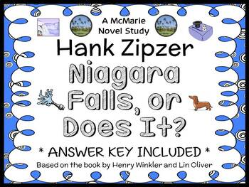 Hank Zipzer: Niagara Falls, or Does It? (Henry Winkler) Novel Study