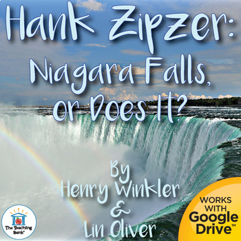 Hank Zipzer: Niagara Falls or Does It? Unit Novel Study