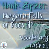 Hank Zipzer: Niagara Falls or Does It? Vocabulary Packet