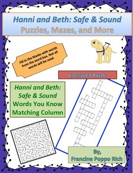 Hanni and Beth: Safe & Sound--Puzzles, Mazes, and More