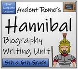 Hannibal - 5th & 6th Grade Biography Writing Activity