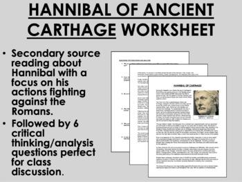 Hannibal of Ancient Carthage - Global/World History