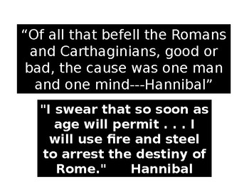 Hannibal's Career