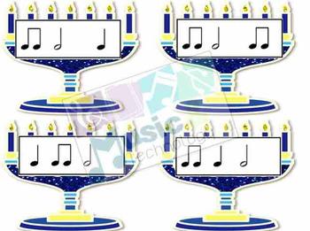 Hanukkah Rhythm Fly Swatter Card Game