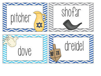Hannukah Write the Room  FREEBIE