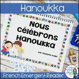 Hanoukka:   A French Emergent Reader about Hanukkah