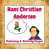 Hans Christian Andersen Coloring and Activity Book Pages -