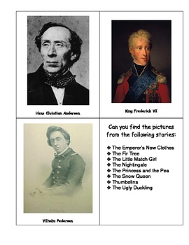 Hans Christian Andersen Lapbook/Mini Unit