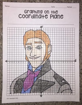 Hans (Graphing on the Coordinate Plane Mystery Picture)