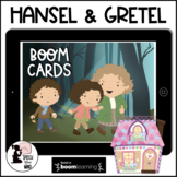 Hansel & Gretel Boom Cards™ Story, Wh-Questions, Sequencing & Graphic Organizers