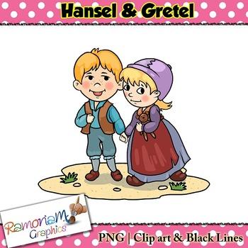 Hansel & Gretel Clip art